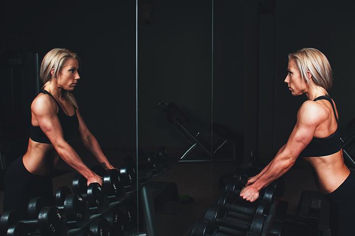 Las mujeres y el ejercicio con pesas