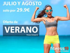 oferta verano 2019 fitness19