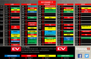 horario noviembre fitness19